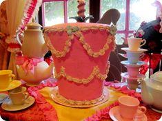 alice unbirthday cake