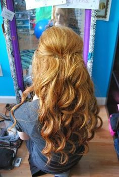 Dress To Impress: Simple hairstyles for long hair fall winter 2014