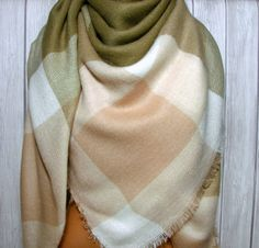 soft oversized blanket scarf
