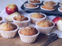 Quick and easy, and great for lunch boxes. I have played around with this recipe and have been using a full 400g tin of pie apple. It makes the muffins a little less sweet and they do not rise as much, but they are more filling. It is up to you how you want to make them.