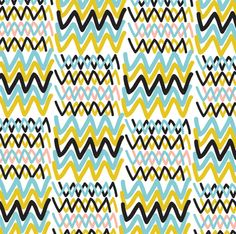 Nice zigzag print. We could do something great with patterns. Mmmm I love patterns.