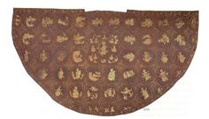 Extant originals - European medieval, Mantle of Kunigunda Medieval Fashion, Medieval Clothing, Historical Clothing, Ottonian, Medieval Embroidery, Century Textiles, Medieval World, Medieval Costume, Clothing And Textile
