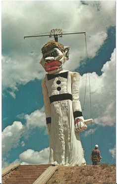 Postcard - New Mexixo - Santa Fe -Burning of Zozobra