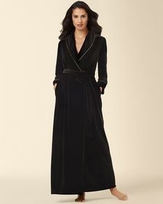 89a42bd0cb3f0c A velvet robe lined in gold brings decadent dreams of time spent together.  Luxuriously soft
