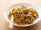 Grilled Corn Salad with Lime, Red Chili and Cotija Recipe