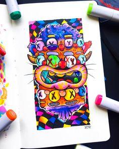 Doodle Art Drawing, Doodle Sketch, Art Drawings, Vexx Art, Doddle Art, Graffiti Doodles, Doodle Characters, Cool Doodles, Doodle Art Designs
