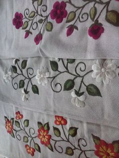Hand Embroidery Stitches, Embroidery Patterns, Couture, Sewing, Home Decor, Kurti, Cactus, Detail, Bed Frame Feet