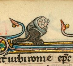 """every time I think """"now I've seen the weirdest medieval shit"""" something still manages to top it Cambrai Bm ms 103"""