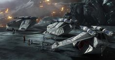 Clone wars gunships