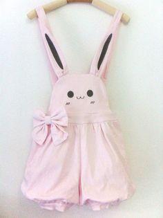 www.sanrense.com - Cute kawaii braces shorts/skirt