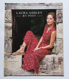 laura ashley 1983 autumn winter fashion catalog. Black Bedroom Furniture Sets. Home Design Ideas