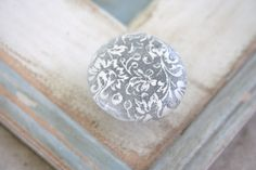 damask drawer pull at Vintage Skye Drawer Knobs, Cabinet Knobs, Designing Women, Damask, Hand Stamped, Silver Rings, Personalized Items, Unique Jewelry, Handmade Gifts