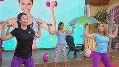 La experta en entrenamiento físico explicó una serie de ejercicios para moldear estas partes del cuerpo. Recomendó una vez a la semana hacer pesas para desarrollar masa muscular.
