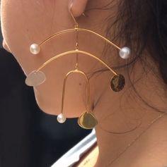 Peggy 9 Calder inspired statement earrings Becca X Peter Jensen