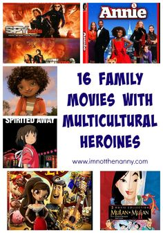 16 Family Movies with Multicultural Heroines via @thienkim #RepresentationMatters