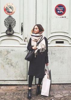 how parisians wear scarves - Google Search