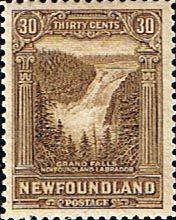 Postage Stamps Newfoundland 1928 SG 178 Grand Falls Labrador Fine Mint Scott 159 Other Newfoundland Stamps HERE