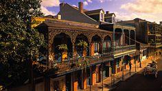 Quartier français, Nouvelle Orléans USA