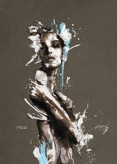 French artist Florian Nicolle. Exoskeletal image, very appropriate for today.