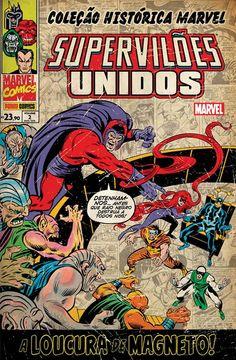 LIGA HQ - COMIC SHOP COLECAO HISTORICA MARVEL SUPER VILOES UNIDOS #2 PARA OS NOSSOS HERÓIS NÃO HÁ DISTÂNCIA!!!