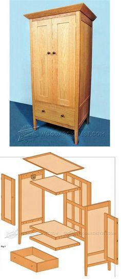 Build Wardrobe - Furniture Plans and Projects | WoodArchivist.com