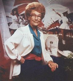 Gussie Nell Davis, 1906-1993. Creator, Founder, and Director of The First American Drill Team, The Kilgore College Rangerettes. A Wonderful Lady.