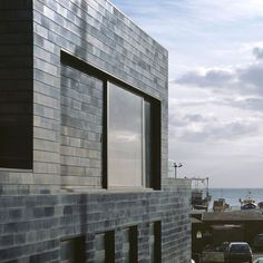 Jerwood Gallery by HAT Projects.. nice black glazed tiles.. fits the harbourside location