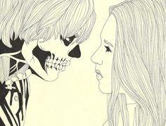 Violet Harmon & Tate Langdon | 'Murder House' (2011-2012) | illustration