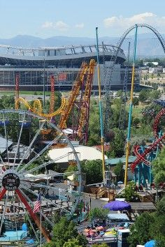 Elitch Gardens (Six Flags) - Denver, CO