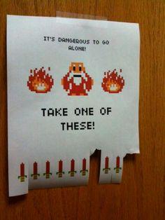 Legend of Zelda - It's dangerous to go alone!