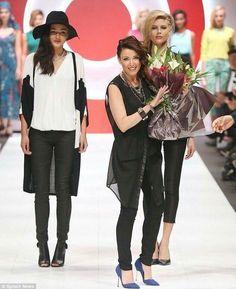 ce992e6ded8 23.03.14 Dannii Minogue Petites For Target Australia Fashion Show Dannii  Minogue