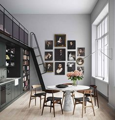 The Design Chaser: Homes to Inspire | Stockholm School Conversion