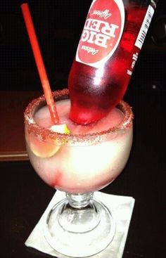 Big Red Margarita