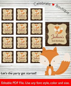 Hey, I found this really awesome Etsy listing at https://www.etsy.com/listing/265223144/woodland-tags-instant-download-orange