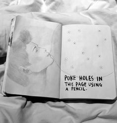 Poke Holes In This Page Using A Pencil
