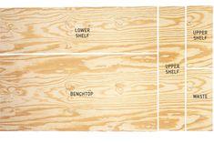 plywood cutting setout, handyman  magazine,