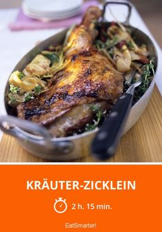 Kräuter-Zicklein - smarter - Zeit: 2 Std. 15 Min. | eatsmarter.de