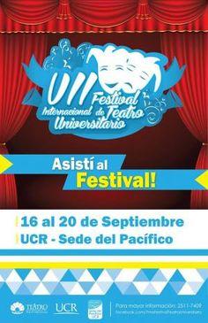 VII Festival Internacional de Teatro Universitariohttp://desktopcostarica.com/eventos/2013/vii-festival-internacional-de-teatro-universitario #CostaRica