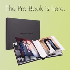 Choose the Pro Book as a downscale from a main Bellissimo Perfetto or Bellissimo Classico album for a photographically printed, luxury downscale at a remarkable price.