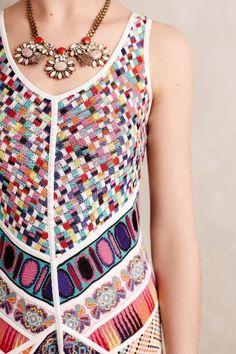 Valparaiso Jacquard Dress - anthropologie.com