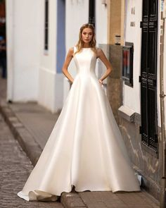 """Lussano bridal's Instagram profile post: """"Classics never go out of style - dress Talisha Essential 2021 collection LImerence #lussano #lussanobridal #gown #bridalgown #bridalstyle…"""""""