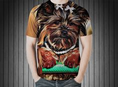 T-Shirt - Yorkshire terrier dog small