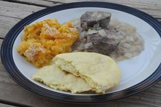 Sauteed reindeer with swede casserole and Finnish flatbread. Travel by Stove: Recipes from Finland