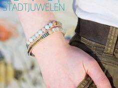 Wickelarmband Amazonit & Hämatit