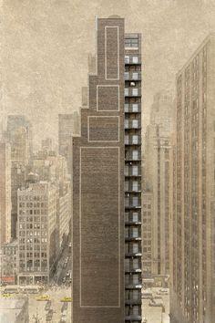 "Marc Yankus "" The Space Between "" / Stairs Building"