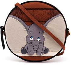Olympia Le-Tan Dumbo applique drum bag
