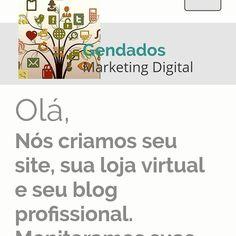 Visite nossa página e faça contato conosco.  GENDDOS RKETℹ  DℹGℹTL 61 998423325  Vivemos na era da mídia digital ter presença ativa nas redes sociais é uma premissa para bons negócios e aumento nas vendas. Ter uma loja virtual aumentará suas vendas com um investimento infinitamente menor e gastos de manutenção menores também. Fale conosco e criaremos sua imagem digital e loja virtual.  #criarsite #criarblog #criarlojavirtual #negocios #brasilia #instadf #blogger #bloggerlife…