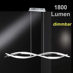 Charming Https://www.lampen Leuchtenhaus.ch/led Deckenfluter In Nickel Matt Dimmbar/  | Swiss Galleria GmbH | Pinterest Home Design Ideas