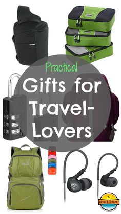 Gifts for Travelers - Practical gifts for the travel-lovers in your life! Everything from packing accessories to electronics, and from gift certificates to travel experiences! Many items currently on sale!
