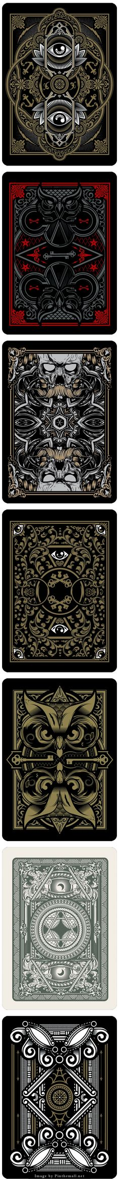 Playing Card Exploration Joshua M. Bg Design, Game Design, Graphic Design, House Of Cards, Deck Of Cards, Art Deco, Art Nouveau, Graphic Pattern, 3d Fantasy